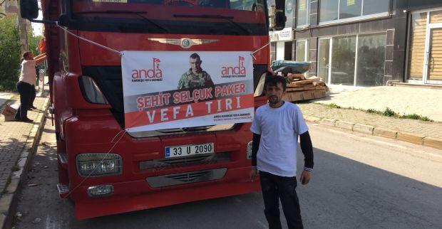 Simitçi Erkan'ın toplandığı yardımlar yola çıktı kendisi ise 3 Mayısta gidiyor