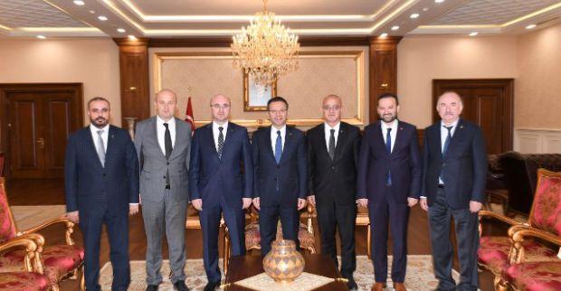 Siyasi parti il başkanları Vali'yi ziyaret etti