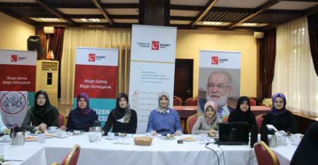 SP Kadın Kolları divan toplantılarına devam ediyor