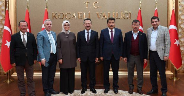 TBMM Meclis Araştırma Komisyonu Başkanı ve Üyeleri  Sayın Valimizi Ziyaret Ettiler.