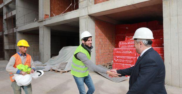 Tematik Lise'nin inşaatı  'hızla' devam ediyor