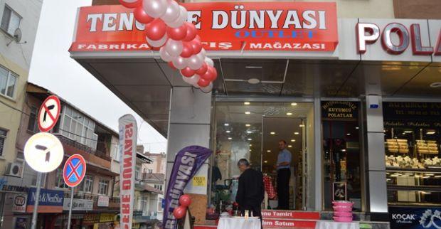 TENCERE DÜNYASI OUTLET,DERİNCE'DE HİZMETE GİRDİ