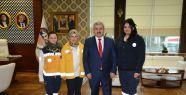 112 Sağlık Çalışanları Başkan Baran'ı...