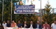 AK Parti Gençlik kolları iftarda buluştu...