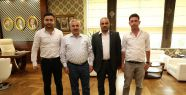Başkan İsmail Baran BBP'li heyeti ağırladı...