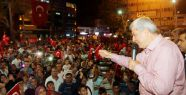 Başkan Karaosmanoğlu, 'Darbeyi gerçekleştirenler...