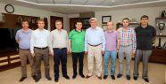 Başkan Karaosmanoğlu, Kepez Belediye Başkanını...