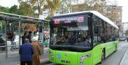 Büyükşehir'in otobüslerinde öğretmenlere...