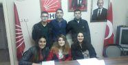 CHP Derince Gençlik Kolları kongreye gidiyor...
