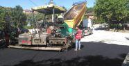 Dilovası Tepecik Köyü'nde asfalt serimi...