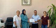Eğitim gönüllüsü Tugay Polat'a teşekkür...