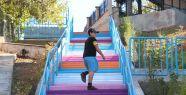 İzmit Belediyesi, Yenimahalle'deki merdivenleri...
