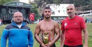 İzmitli güreşçi Seçkin Duman Bursa'da...