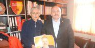 Keleşoğlu'ndan gazetemize ziyaret