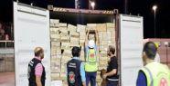 Körfez Limanı'ndaki gemide 450 bin paket...