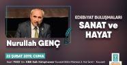 Prof. Dr. Nurullah Genç, Edebiyat Buluşmaları'na...