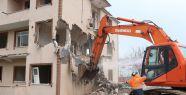 Salim Dervişoğlu'nda ilk yıkım gerçekleştirildi