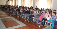 Turgut Reis İlköğretim'de çocuklara...