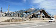 Valilik Kompleksi önüne modern yaya köprüsü...