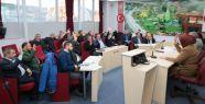 Yılın son meclis toplantısı yapıldı...