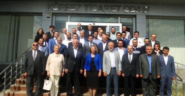 TOBB Başkan Yardımcısı Halim Mete'den  KTO'ya ziyaret