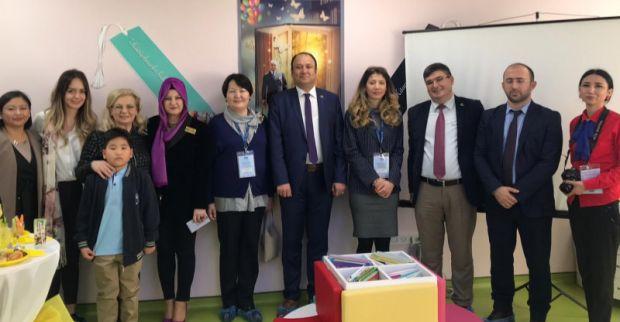 Türk Belediyeler Birliği Hayme Anaokulu Okulunu incelediler