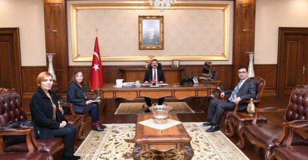 Türk Mimar ve Mühendis Odaları Birliği Kocaeli İl Koordinasyon Kurulu Sekreteri Sayın Valimizi Ziyaret Etti