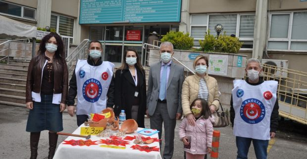 Türk Sağlık-Sen'den Nasreddin Hocalı eylem
