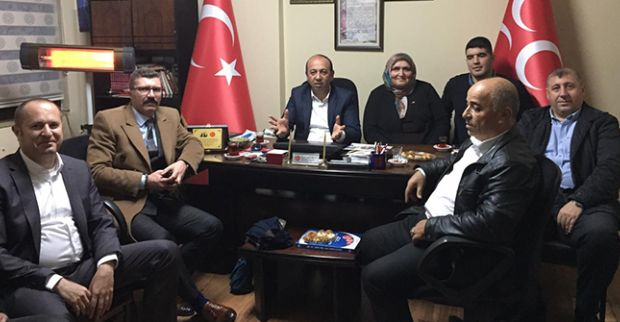 TÜRKAV'dan MHP 'ye çifte ziyaret