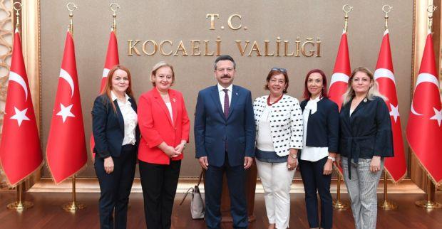 Türkiye Soroptimist Kulüpleri Federasyonu Başkanı, Sayın Valimizi Ziyaret Etti