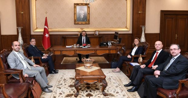 Türkiye Yelken Federasyonu Yeni Yönetiminden Sayın Valimize Ziyaret
