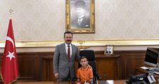 Yahya Kaptan Ortaokul Öğrencileri Sayın Valimizi Ziyaret Etti