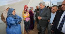 Büyükşehir'den Suriyeli mültecilere yardım