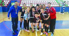 19 Mayıs Liseli kızlar,Türkiye Şampiyonu oldu