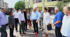 Başkan Aygün Yenikent'te