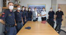 Jandarma'dan Derince Eğitim ve Araştırma Hastanesine Ziyaret