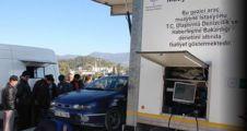 Tüvtürk'ten gezici muayene istasyonu