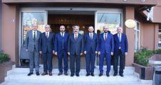 İl Başkanları Hülagü ile görüştü