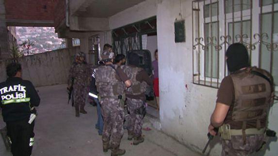 Uyuşturucu operasyonu 48 gözaltı