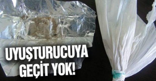 Uyuşturucuya geçit yok!