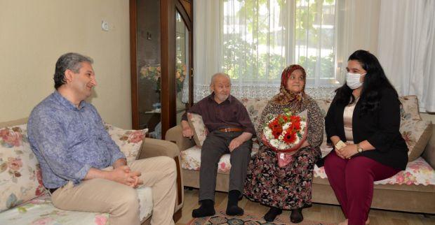 Vali Seddar Yavuz'un Eşi Selda Yavuz, Şehit Aileleri ve Gazilerimizi Ziyaret Etti