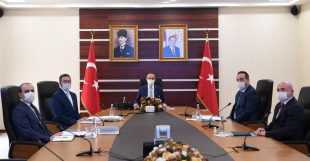 Vali Yavuz, Sanayi ve Teknoloji İl Müdürlüğünden Brifing Aldı