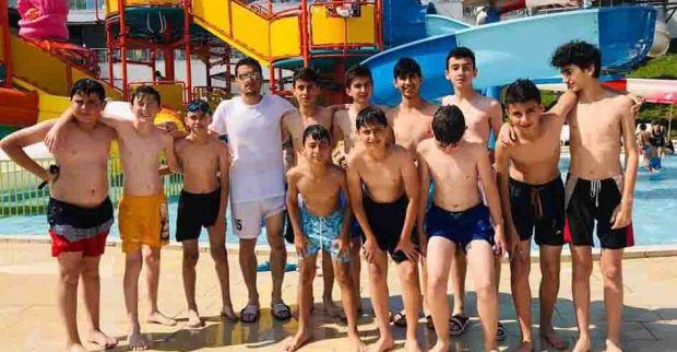 Yavuzspor U-13 takımına şampiyonluk primi aqupark