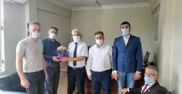 Yeniden Refah Partisi Derince ilçe Teşkilatı'ndan Camiler ve Din Görevlileri Haftası dolayısıyla ziyarette bulundu