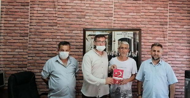 Yeniden Refah Partisi'nden gazetemize ziyaret