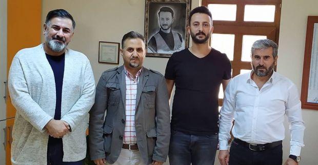 Yeniden Refah Partisinden Muhtar Karakaş'a ziyaret