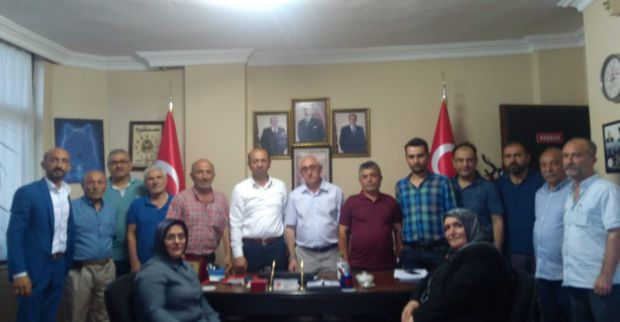 Yozgatlılardan MHP'ye ziyaret