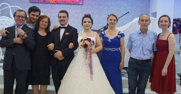Ziya Lüleci oğlunu evlendirdi